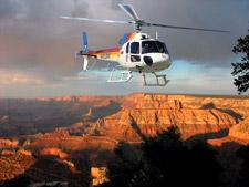 Вертолетный тур на закате с пикником в Каньоне (Grand Canyon Sunset). Спуск на вертолете на кромку Гранд-Каньона. (Туры из Лас-Вегаса в Гранд-Каньон от туроператора 'Космополитан Тревел')