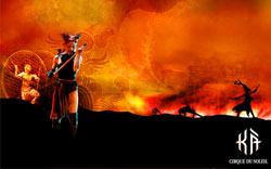 'KA', одно из новых грандиозных шоу 'Цирка дю Солей' ('Cirque du Soleil') в отеле 'MGM Grand'. Бронирование билетов на лучшие шоу через туроператора по США.