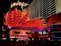 Лучшие отели Лас-Вегаса. Отель 'Flamingo', на открытии которого впервые были приглашены звезды Голливуда и шоу бизнеса.