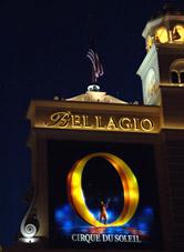 Шоу 'Цирка дю Солей' 'О' в Лас-Вегасе!
